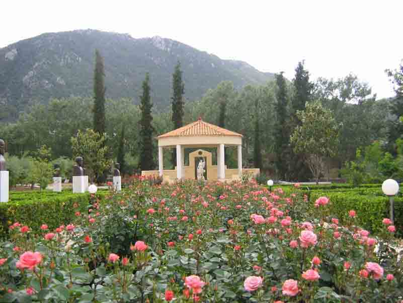 The Centre is well known for its beautiful Historic Rose Garden, the best in the Balkans.